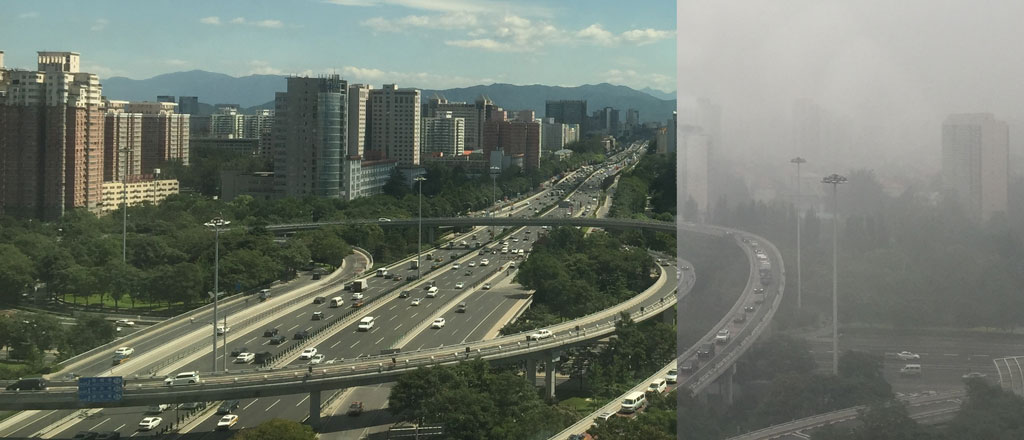 Moch research on China's smog