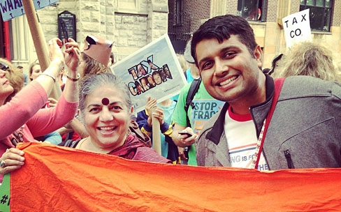 Fellows in NYC for People's Climate March