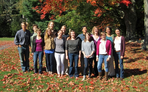 New England retreat attendees 2013