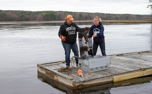 Developing an applied fisheries program in the Gulf of Maine